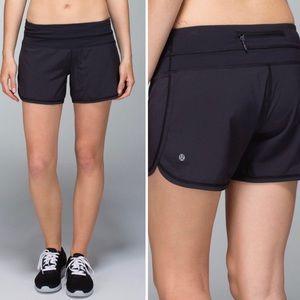 Lululemon Black Groovy Run Short Size 10